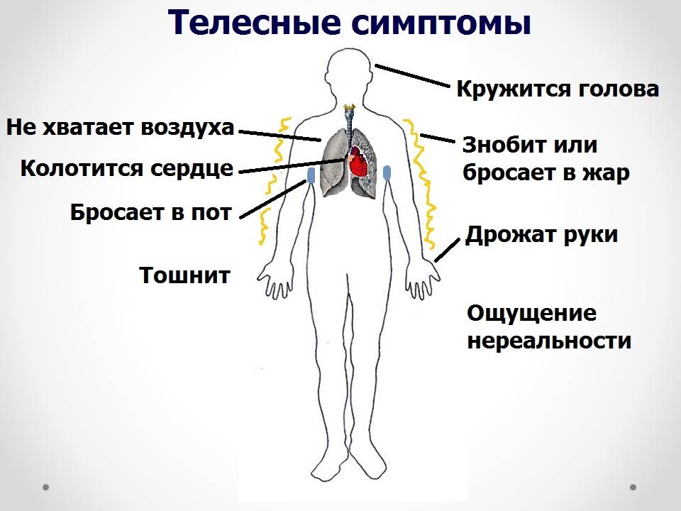 При каких заболеваниях бывают панические атаки
